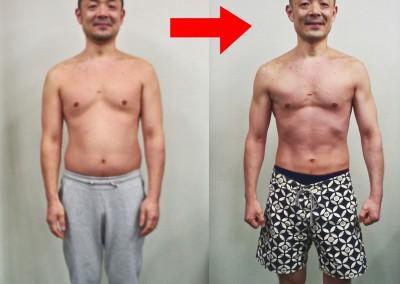 12週間で16kg減!(40代・男性)